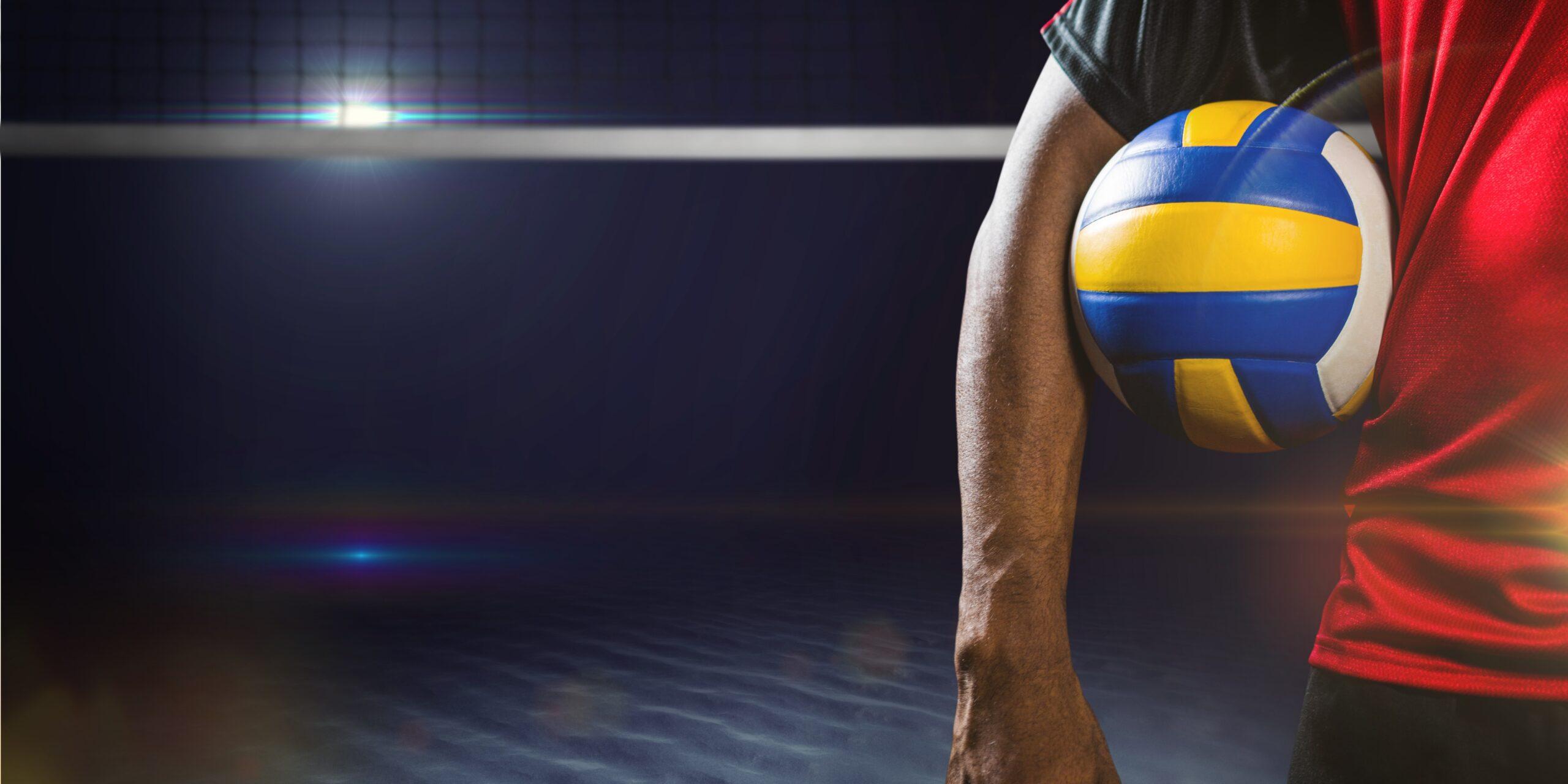 Volleybal gedragen